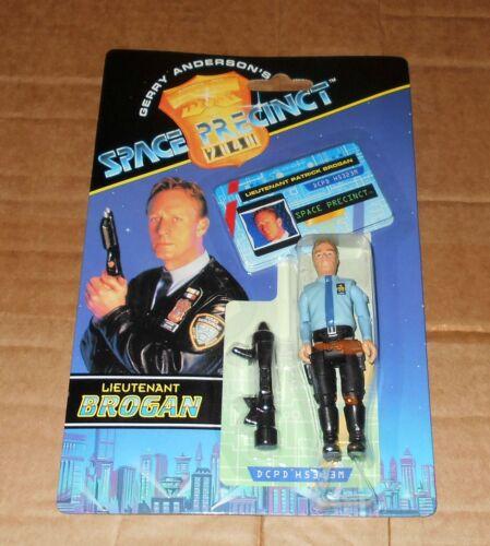 Space Precinct figure 1994 Vivid Imaginations Gerry Anderson *SEALED* BROGAN
