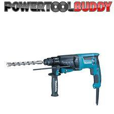 Makita HR2630 X7 240volt SDS Hammer Drill 800w 3 x Function Hammer & Chisel