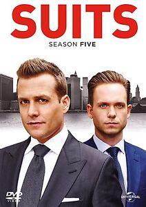 Suits-Season-5-Complete-Fifth-Season-various-Suites-Gabriel-Macht-New-UK-DVD