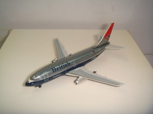 Aeroclassics 400 British Airways BA B737-200  1970 s couleur-Rivière Derwent  1 400