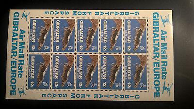 Gibraltar Besorgt Gibraltar 1978 Kleinbogen Fotographie Aus Dem Weltraum Postfrisch Sparen Sie 50-70%
