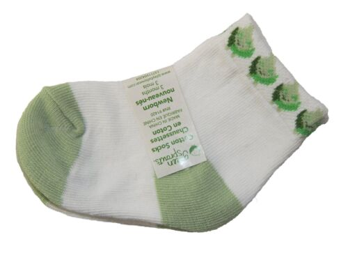 Socks Overalls iPlay Green Sprouts Baby Layette 3 Piece Set Hat 0-3 Months