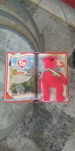 1999 TY Teenie BEANIE BABIES OSITO The BEAR International Bears McDonalds RARE