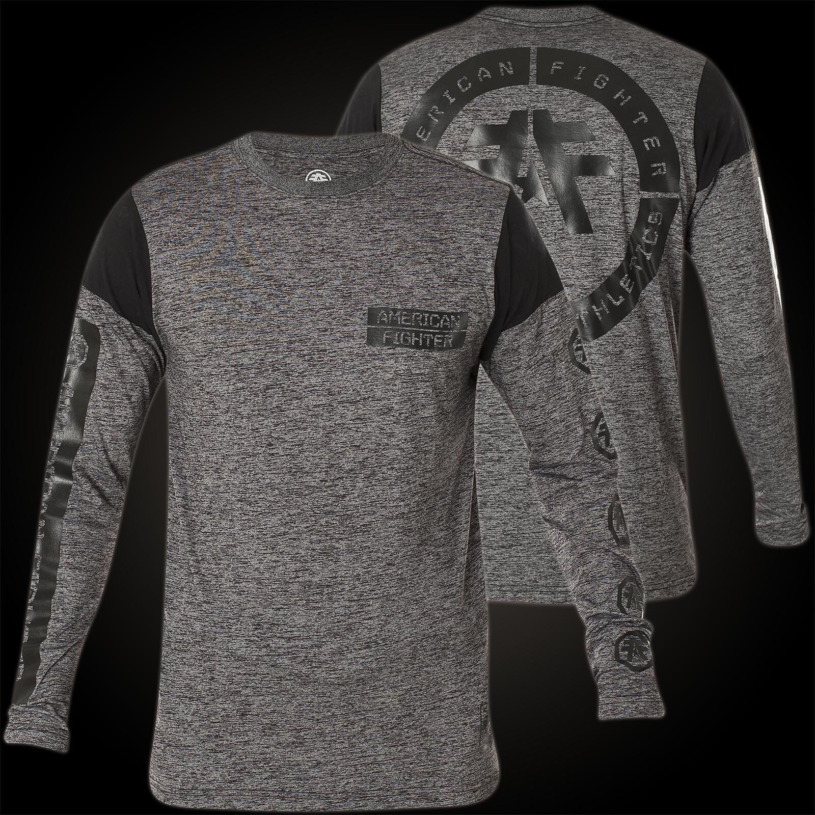 AMERICAN FIGHTER Affliction Pullover Lorenzo Grau Sweatshirts