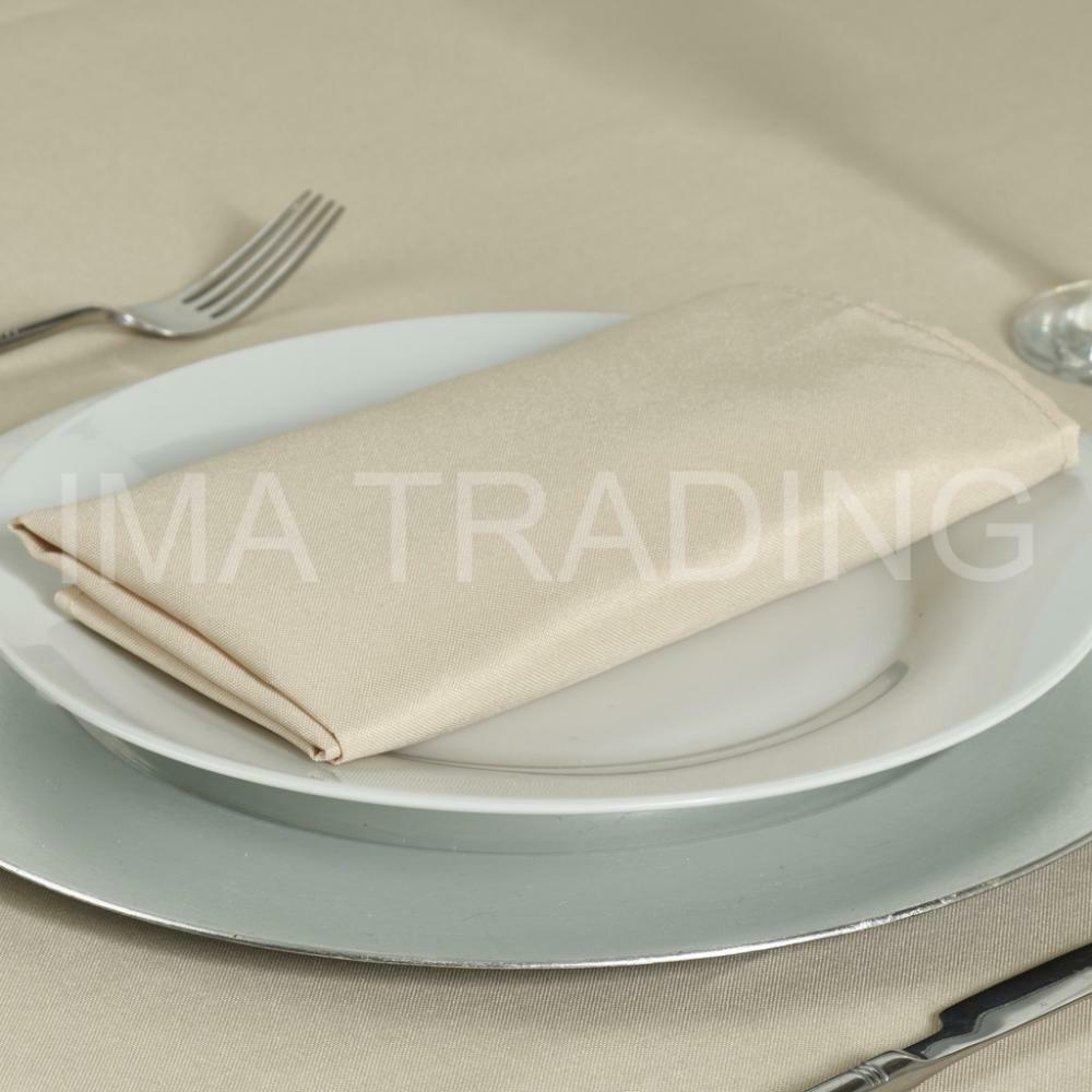 BEIGE TABLECLOTH 178 X 275 cm 70 X 108 108 108 Inch 220GSM SPUN POLYESTER TABLE CLOTH 79e2e4