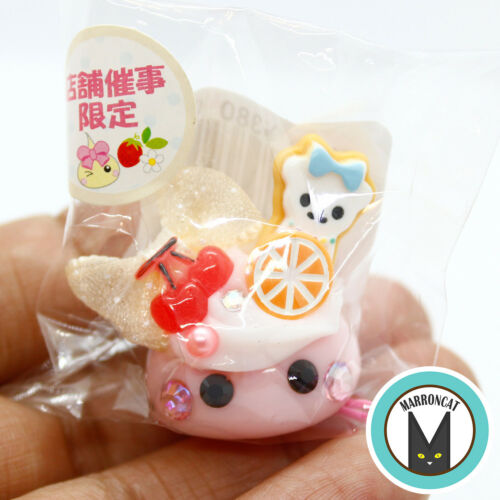 Hoppe Chan Sunhoseki Limited Cherry Cream Bear Cookie Kawaii Cute Phone Charm US