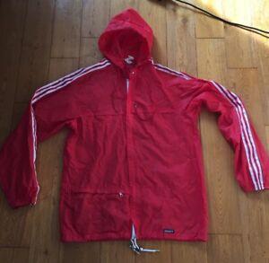 ac2bf19de71c Vintage Retro 70 s Adidas Ventex Originals Kagool Hoodie Hoody M ...