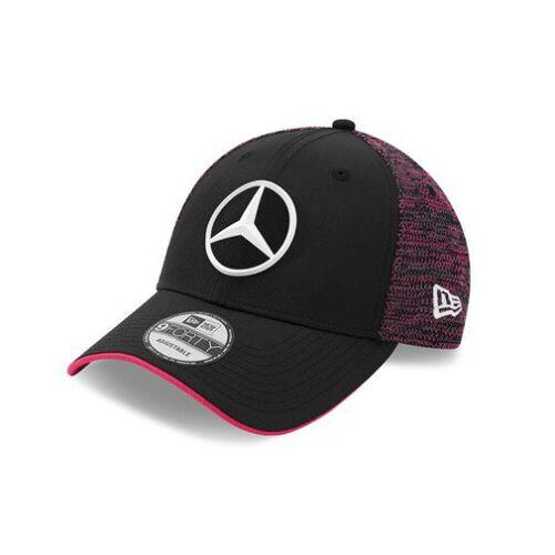 2020 Mercedes E-Sports Team New Era Draft 9Forty Baseball Cap Red Adults Size