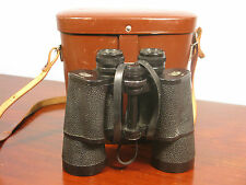 Binoculars Vintage Cased Carl Zeiss Jena DDR Jenoptem 10x50W No 6379924 C1985