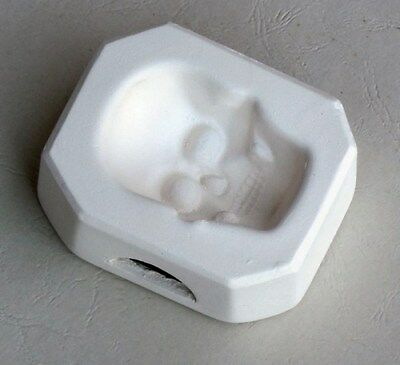 IMD-1080G JEWELRY SKULL GLASS FUSING pod mold