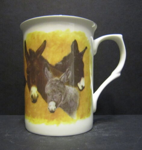 Donkey Fine Bone China Mug Cup Beaker