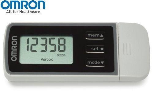 Omron HJ322 a Pie Estilo pro 2.0 Pedómetro (HJ-322U-E) Original / Nuevo