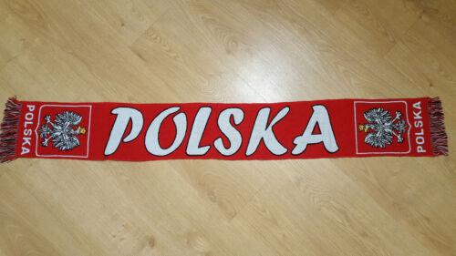 high quality !! Polska  szalik Poland scarf