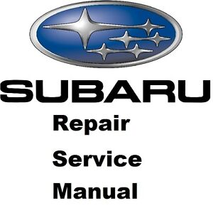 all subaru forester factory service manual fast send 1998 to 2016 ebay rh ebay com 2000 Subaru Forester 2001 Subaru Forester