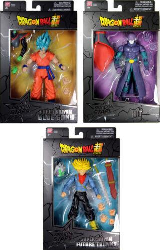 Dragon Stars Series 3 Action Figure Set ~ SSGSS Goku SS Future Trunks /& Hit