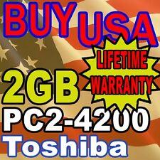 2GB Toshiba Satellite L100 M105 M115 Series MEMORY RAM