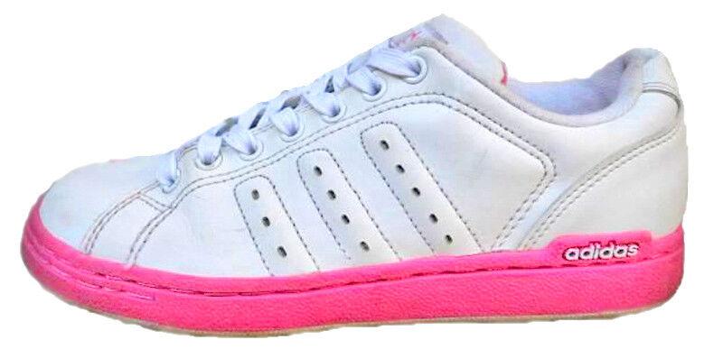 Adidas Coupe Basse à Lacets Décontracté femmes Filles blanc Fitness Sport