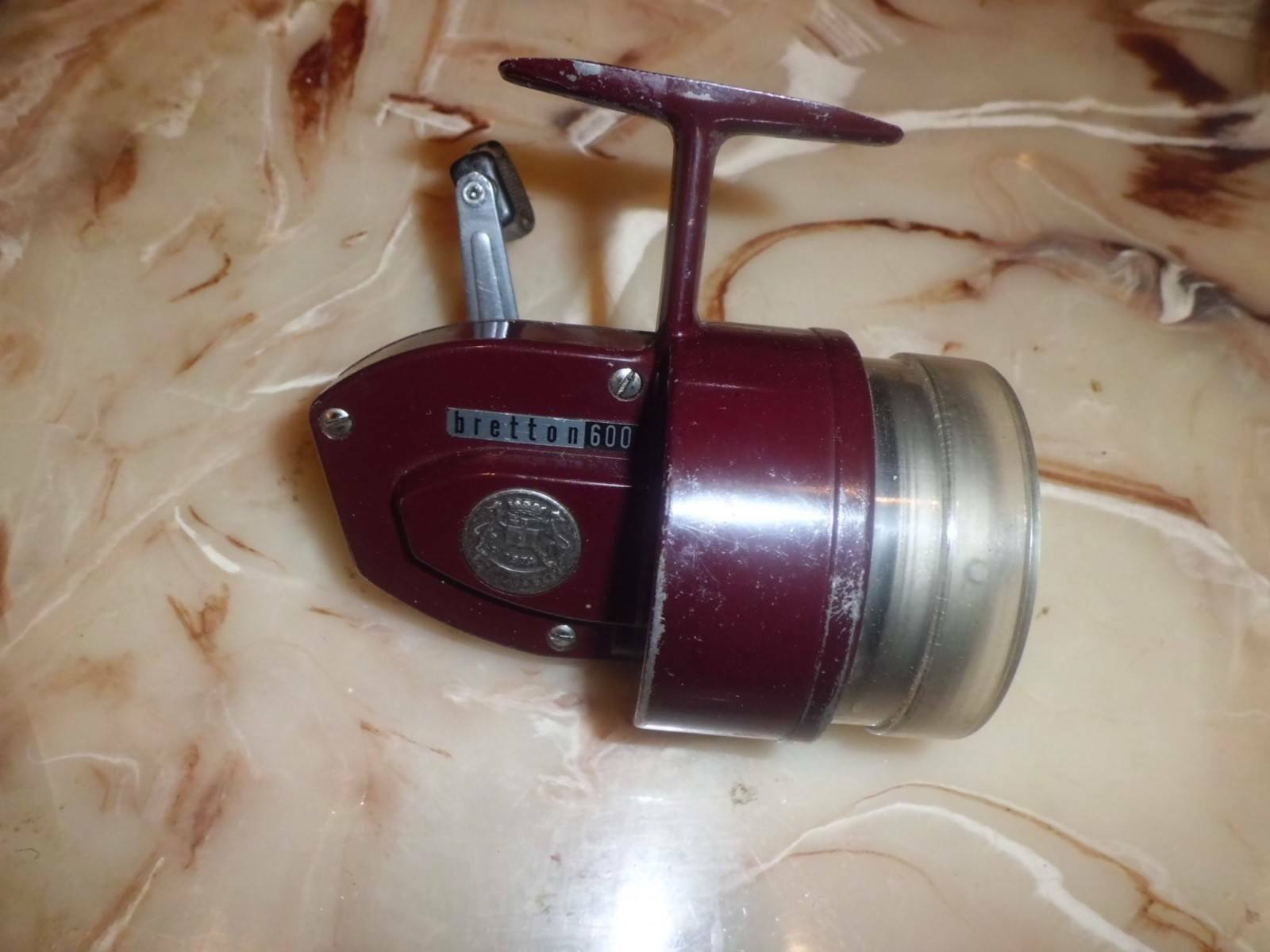 Vintage Bretton Bailess Spincasting Reel made in France