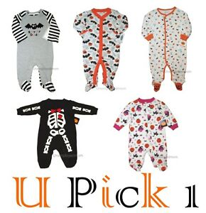 image is loading halloween sleep play boys outfit footie sleeper footed