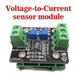 Current To Voltage Conversion Sensor Board 4-20mA To 0-3.3V 0-5V 0-10V 0-15V