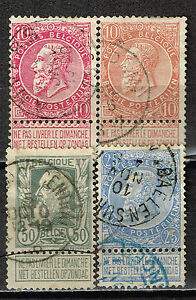Belgium Brussels Expo King Leopold Classic Stamps 1905 Ebay
