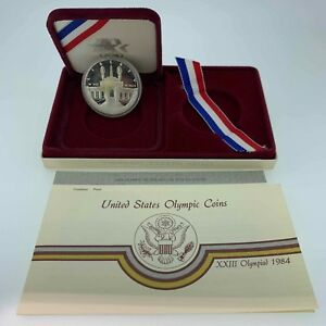 1984-S-Olympic-Proof-Silver-Dollar-Free-Shipping-USA