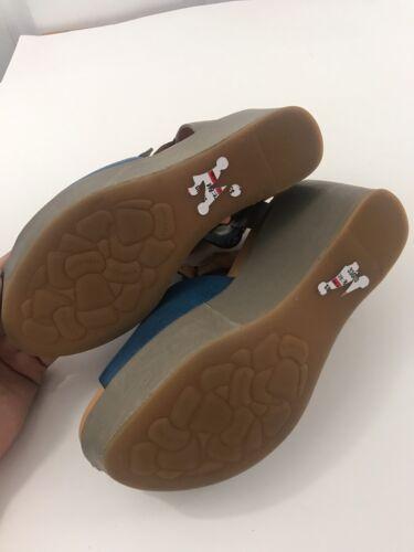 Kork-Ease Sandals Leather Platform Heel Sizes Of 8M /& 9M K40622 CBHL15 BLue