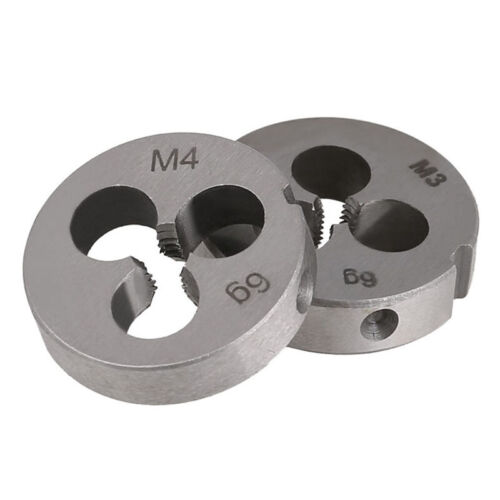 M1 to M20 Alloy Steel Right Hand Metric Round Die Threading Tool Thread Cutter