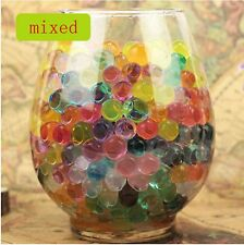 600pcs Mixed Cool Glitter Water Beads Make Up Crystal Soil Vase Jelly Balls