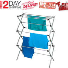 Clothes Drying Rack Laundry Stand Folding Hanger Indoor Dryer Storage Heavy Duty