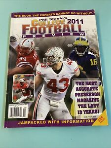 Phil Steele's 2011 College Football Preview Montee Ball Jared Crick Nathan Willi