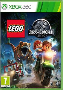 LEGO-JURASSIC-WORLD-Xbox-360-Menta-spedizione-lo-stesso-giorno-tramite-consegna-super-veloce