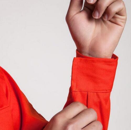 Men Long Sleeve Cotton Work Coverall Coat Jumpsuit Women Labor Work Uniform Sbox