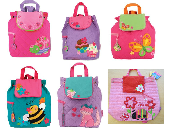 New Quilted Backpack Girls Toddler Overnight