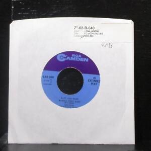Lena-Horne-Lena-Horne-Sings-The-Blues-EP-7-034-VG-Vinyl-45-RCA-Camden-CAE-380