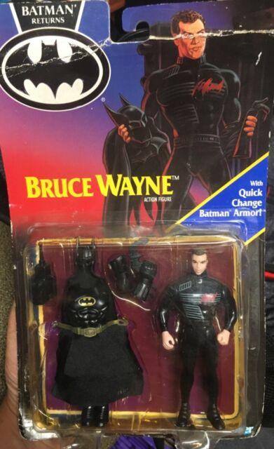 Vintage 1991 Kenner BATMAN RETURNS Bruce Wayne Batman RARE Figure NEW