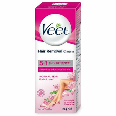 Veet Hair Removal Cream 25g For Legs Bikni Line Underarm Arms
