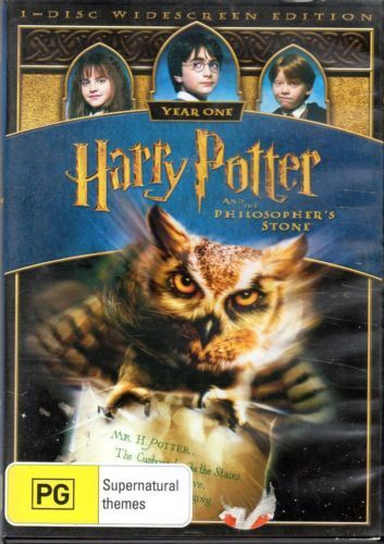 Harry Potter And The Philosopher's Stone (DVD, 2005)  (D88)(D160)