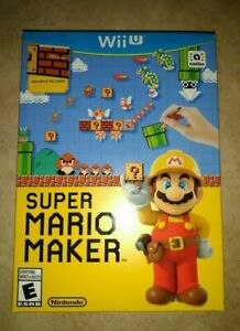 Super-Mario-Maker-Bundle-SEALED-with-Idea-Book-Nintendo-Wii-U-WiiU