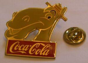Disney-1986-Coca-Cola-CYRIL-PROUDBOTTOM-Adventures-of-Ichabod-Mr-Toad-pin-badge