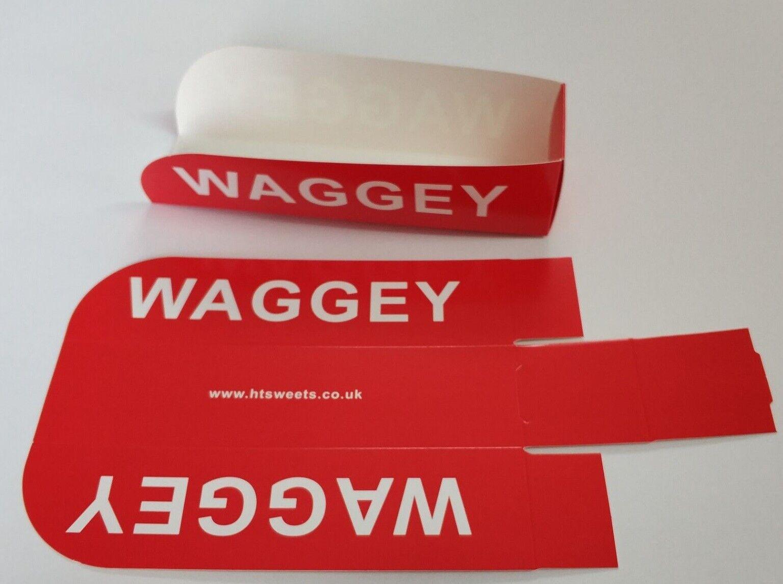 Waggey trays x 100