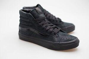 0341861a157 Vans Women SK8-Hi Slim - Patent Crackle black black VN02R2M1L