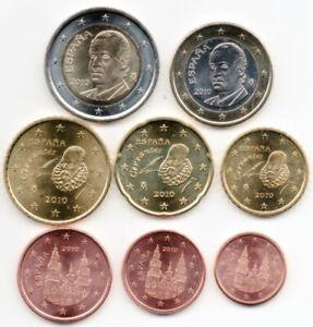 Série Euro Courante Non Circulée (UNC) - Espagne 2004