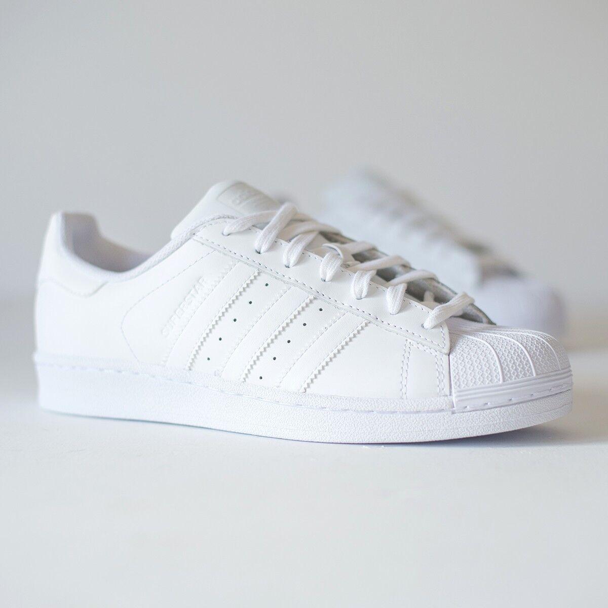 Adidas Adidas Adidas superstar fondazione b27136 bianco 9650fc