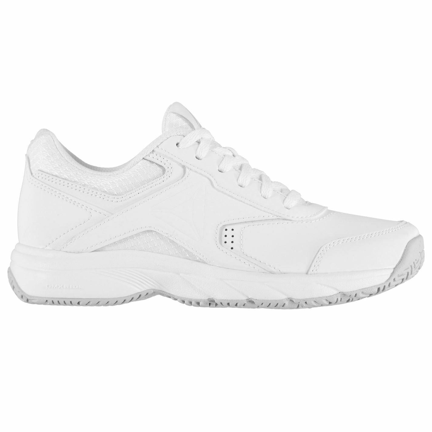 Reebok Womens Work N Cushion 3.0 Trainers Training shoes Lace Up Herringbone
