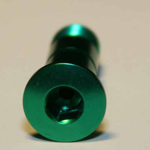Green Kronos Aluminum Shimano Rear Derailleur Pivot Bolt
