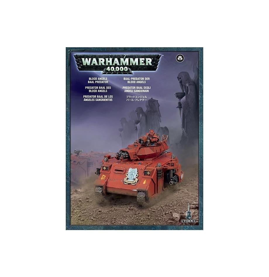 Warhammer 40,000  Blood Angels Baal Predator GW 41-09 NIB