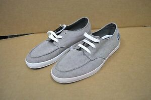 d9c94bed8edad Reef Men's Coastal Cruisers Deck Hand 2 TX Grey / White Shoes New ...
