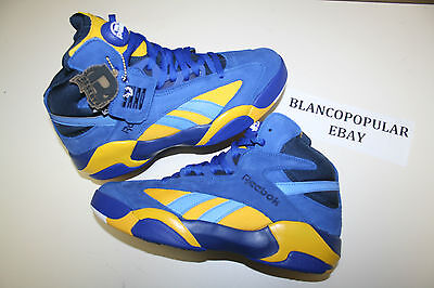 456988ad480198 ... DS BRAND NEW REEBOK X PACKER SHOES X SHAQ ATTAQ BLUE CHIPS SZ 13 ...