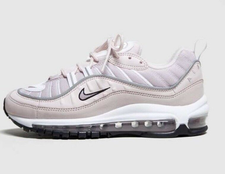 Nike And Airmax 98 Femme Rose And Nike blanc Trainers 94734f